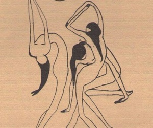 art, dance, and woman image