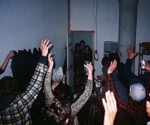 party, grunge, and alcohol image