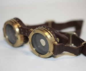 steampunk and goggles image
