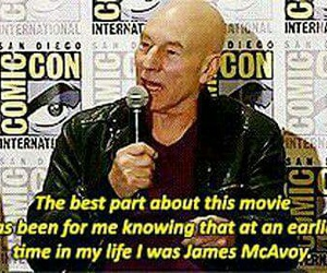 funny, Marvel, and james+mcavoy image