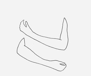 art, hug, and drawing image