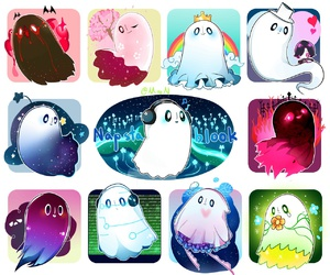 undertale, napstablook, and underfell image