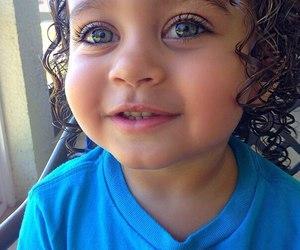baby, eyes, and girl image