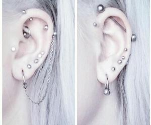 gray, grey hair, and grunge image