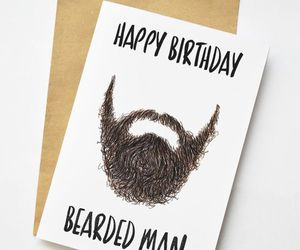 bearded, happy birthday, and man image