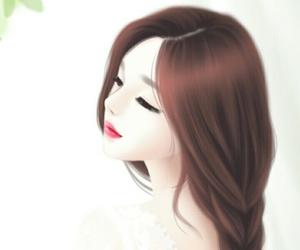 girl, Enakei, and art image