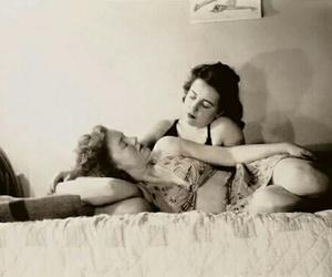 lgbt, gal pals, and vintage lesbians image