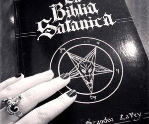 book, satan, and Devil image