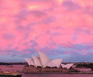 australia, nature, and opera house image