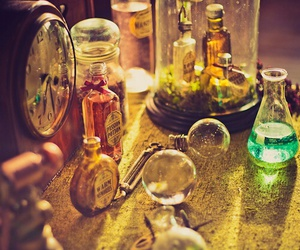 potion, magic, and steampunk image