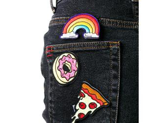 donut, fashion, and jeans image