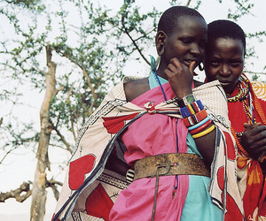 africa, colour, and fashion image