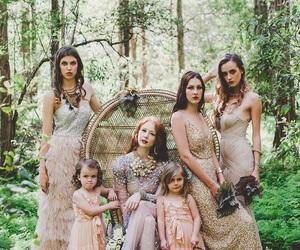 bohemian, wedding, and boho image