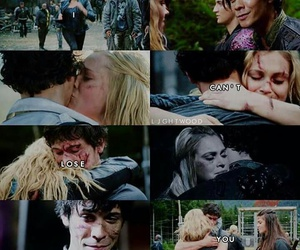 clarke griffin and bellamy blake image