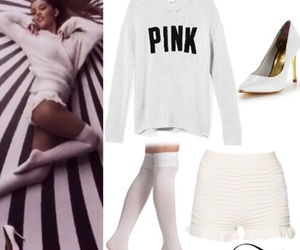 ariana grande, outfit, and problem image