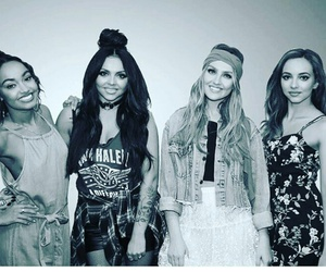 little+mix and black+and+white+pic image