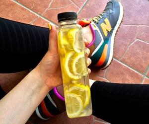 fitness, inspiration, and lemon image
