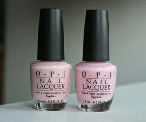 pink, opi, and nails image
