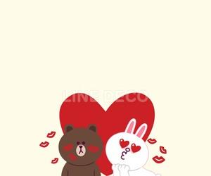 art, bear, and bunny image