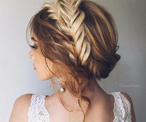 belleza, blonde hair, and braids image