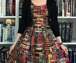 books and dress image