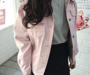 pink, casual, and outfit image