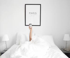 bed, comfy, and home image
