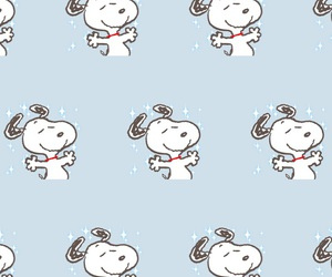 pattern and snoopy image
