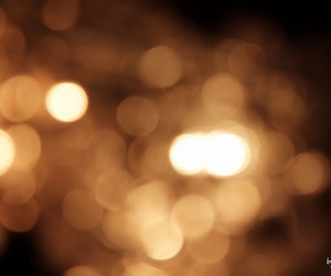 bokeh and gold image