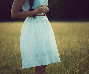 dress, nature, and photography image