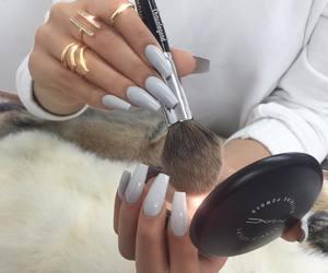 nails, makeup, and mac image