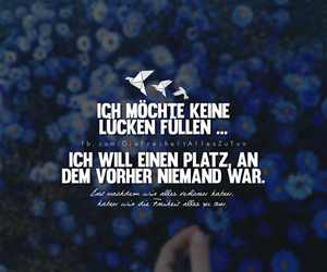 liebe, quote, and verliebt image