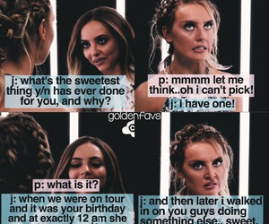 funny, perrie, and jesy image