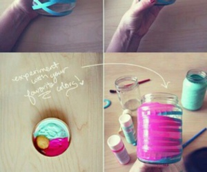 ideas, candle, and crafts image