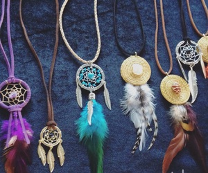 colares, cores, and dreamcatcher image
