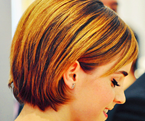 celebrity, emma watson, and hair image