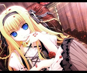 anime, anime girl, and beautiful eyes image