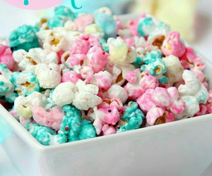 candy, food, and popcorn image
