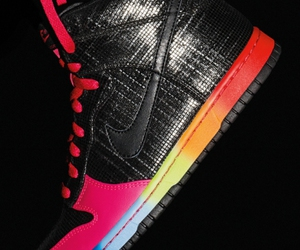 colours, shoes, and sneaker image