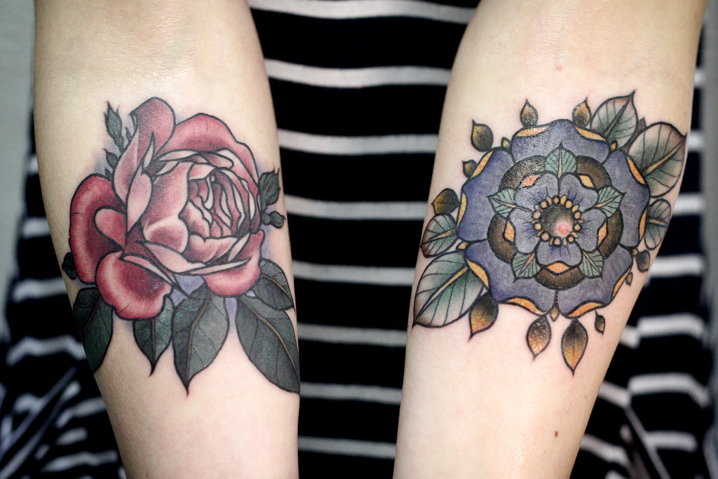 July Flower Tattoo Shared By Anjali Rawal On We Heart It