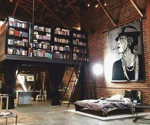 book, home, and art image