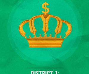 the hunger games and districts image