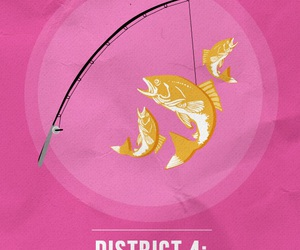 district and the hunger games image