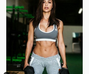 abs, gym, and workout image