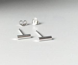 sterling silver, jewelry, and simple image