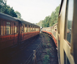 train, indie, and photography image