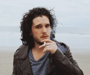 kit harington, jon snow, and game of thrones image
