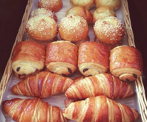 bakery, breakfast, and chocolate image
