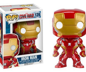iron man, funko pop, and superheros image