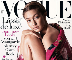 cover, fashion, and vogue image